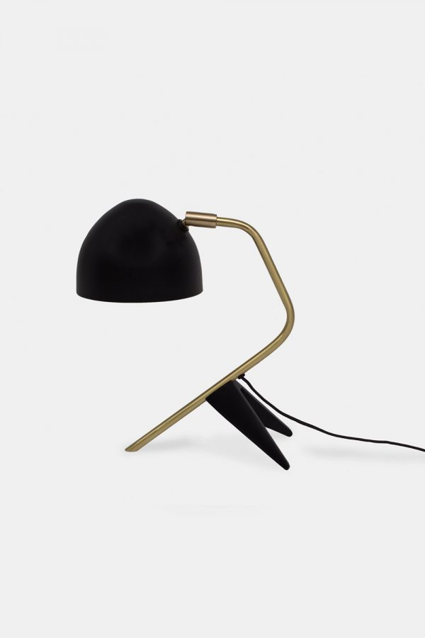 Brass tablelamp, danish designer lamp from Klassik Studio