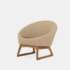 KØ Tub Chair, round lounge chair, Foss