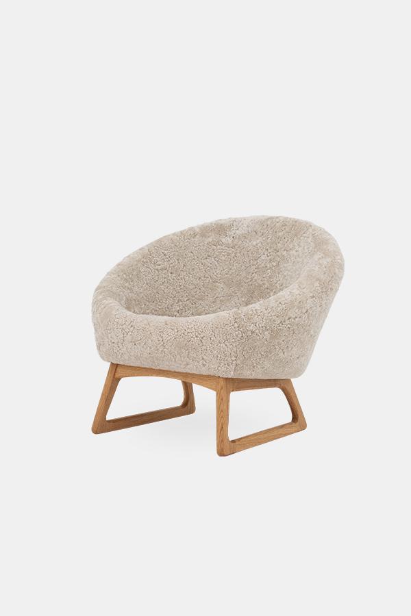 Tub Chair from Kurt Østervig, Moonlight