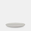 White keramic plate, tableware
