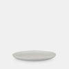 White keramic plate, tableware