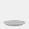 stoneware dinner plates in natural white
