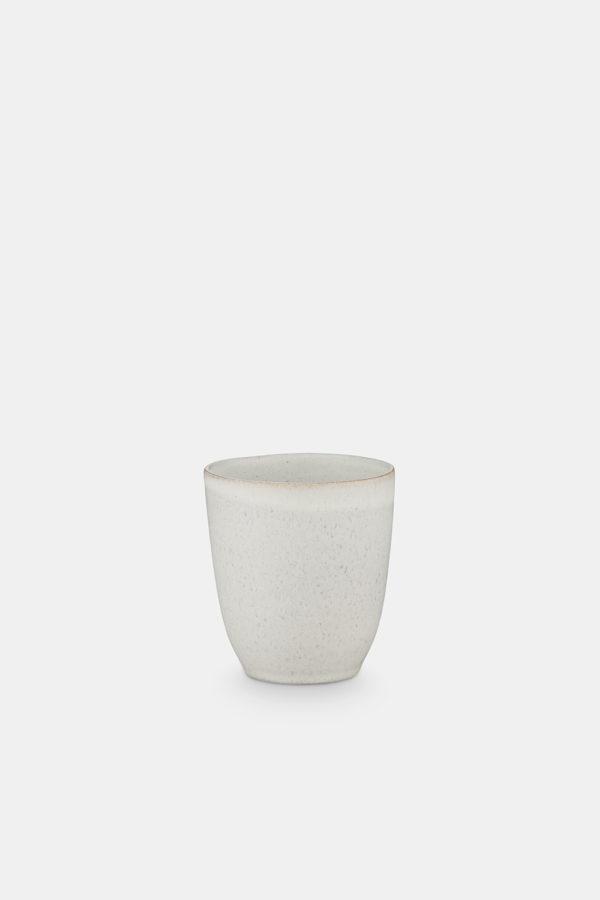 stoneware mug no handle