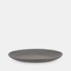 Grey stoneware plate, Danish tabelware