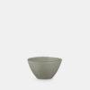 stoneware medium size bowl green