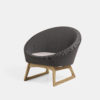 Tub Chair in kjellerup fabric