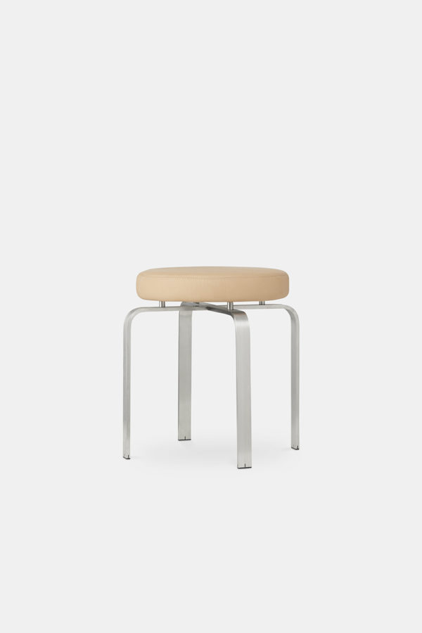 JH Stool Natural leather