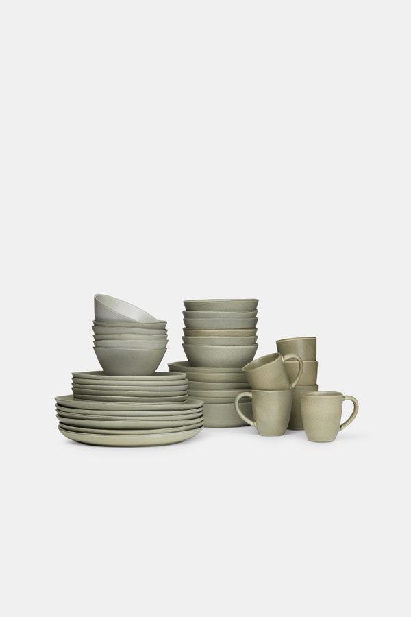 tableware-stoneware-handmade-khaki